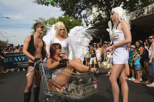 Melbourne's gay and lesbian sporting teams were truly out in force, ...